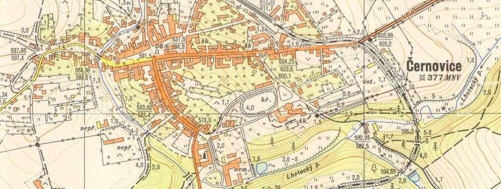 Topograficke Mapy 1 10 000 Drobne Pamatky